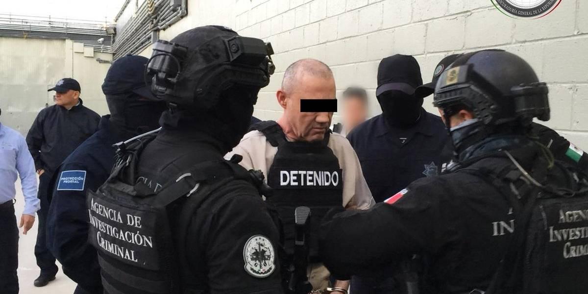 """Dámaso López alias """"El Licenciado"""" es extraditado a Estados Unidos"""