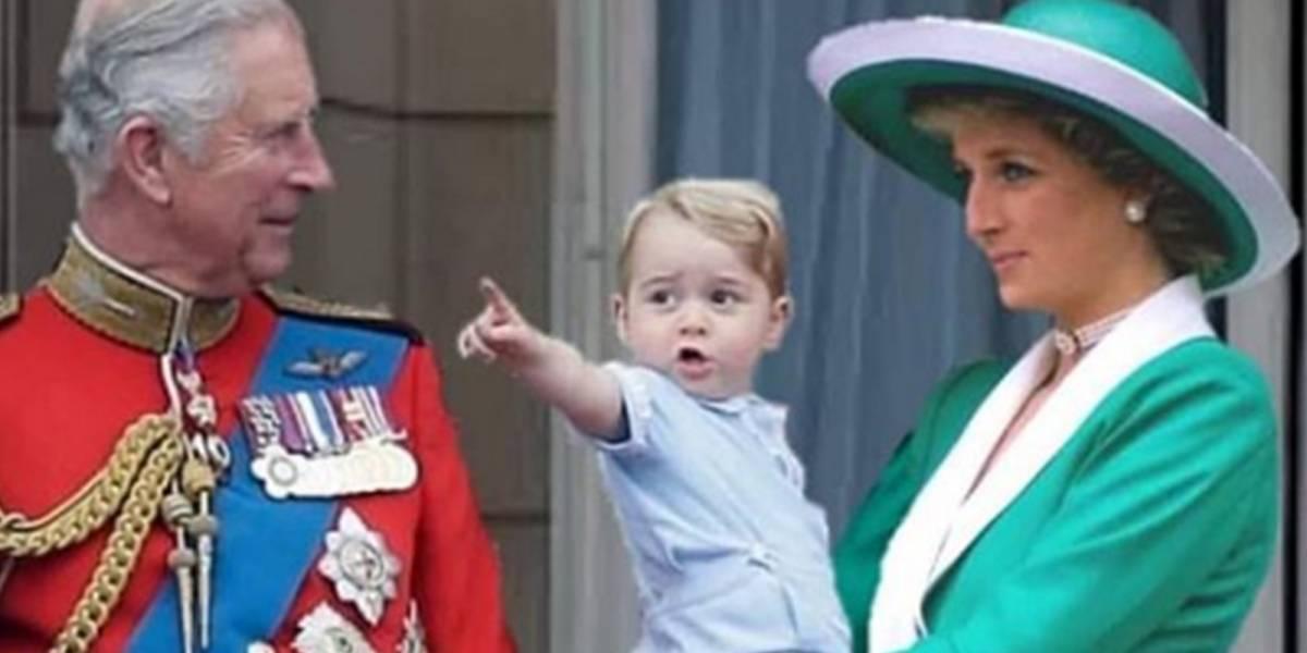 Estas sorprendentes fotos muestran cómo sería la vida de los miembros de la realeza si la princesa Diana estuviera viva