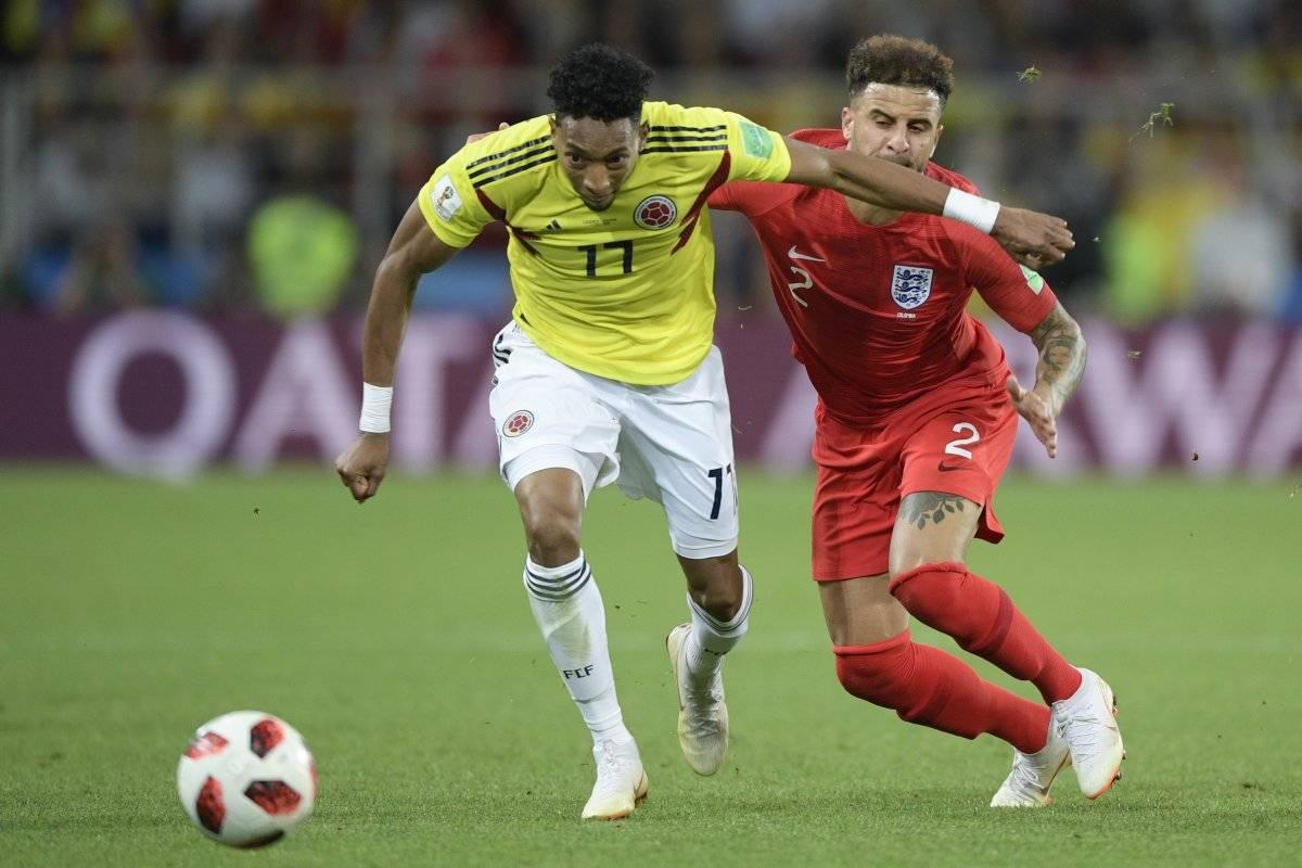 Colombia fue eliminada por Inglaterra