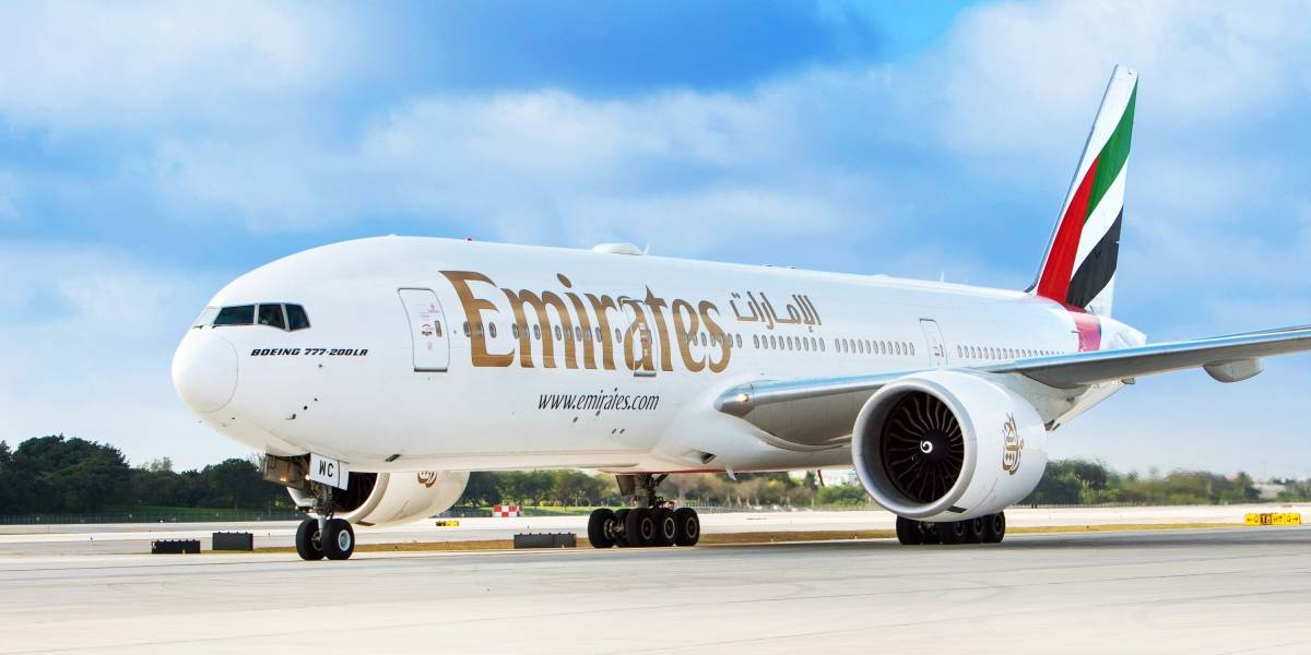 Emirates ya comenzó a unir Santiago con Dubái