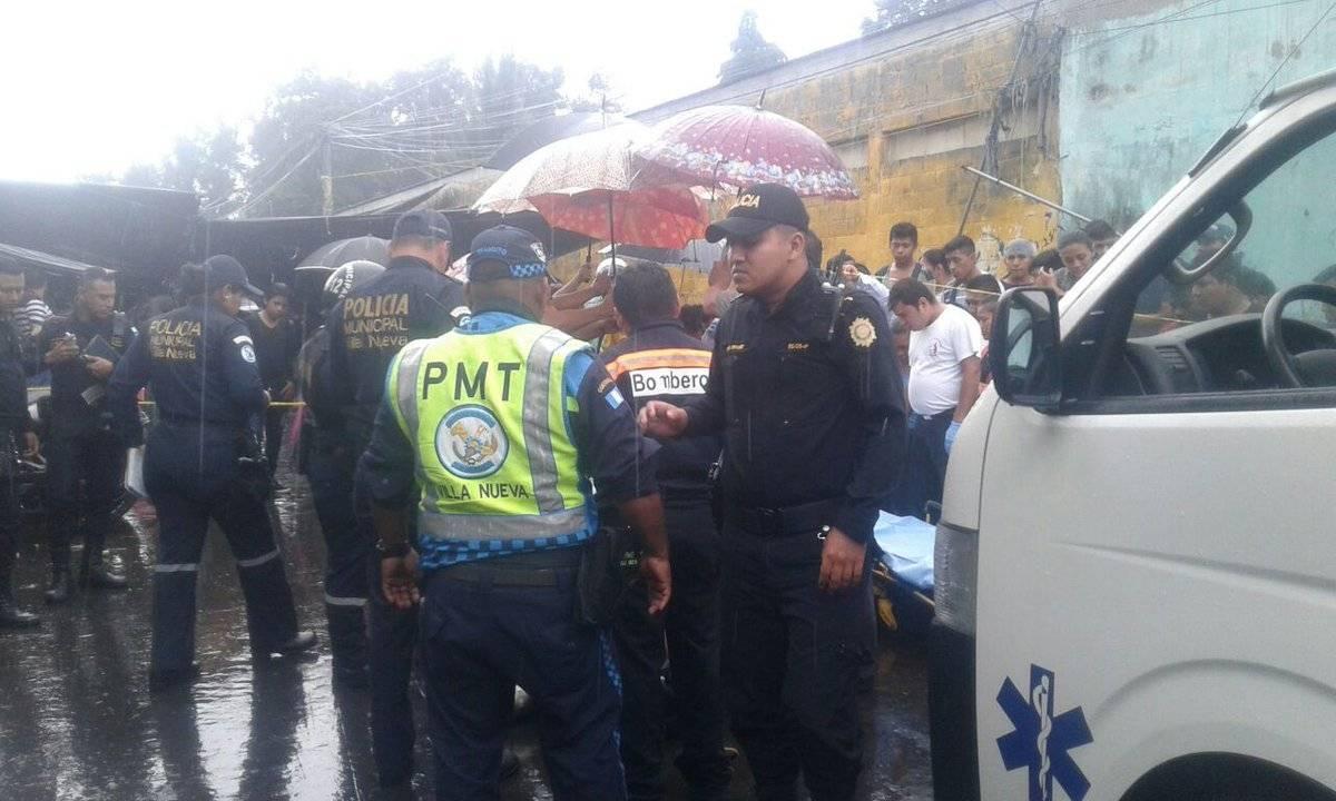 ataque armado contra estudiante en Villa Nueva