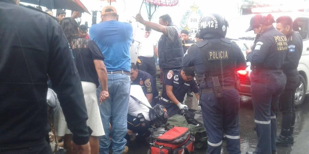 Estudiante resulta herido tras ataque armado en Villa Nueva