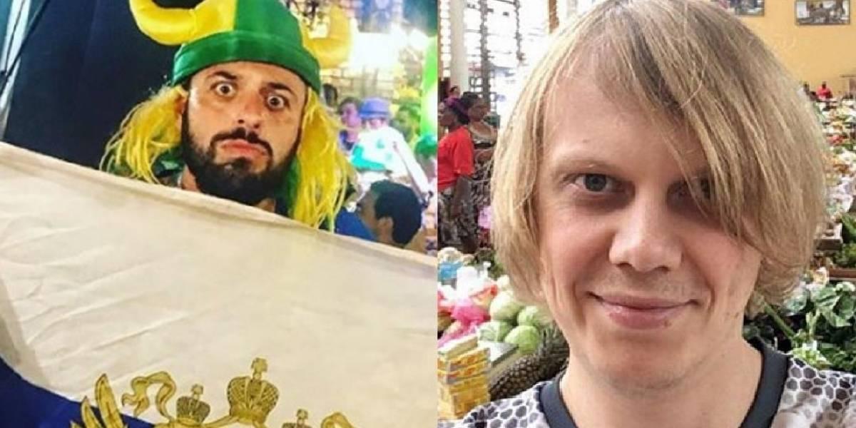 Viking brasileiro e torcedor russo misterioso assistirão ao jogo do Brasil juntos
