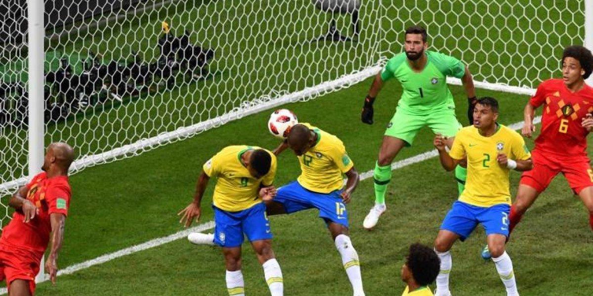 Fernandinho suma una nueva marca negativa para Brasil en los Mundiales