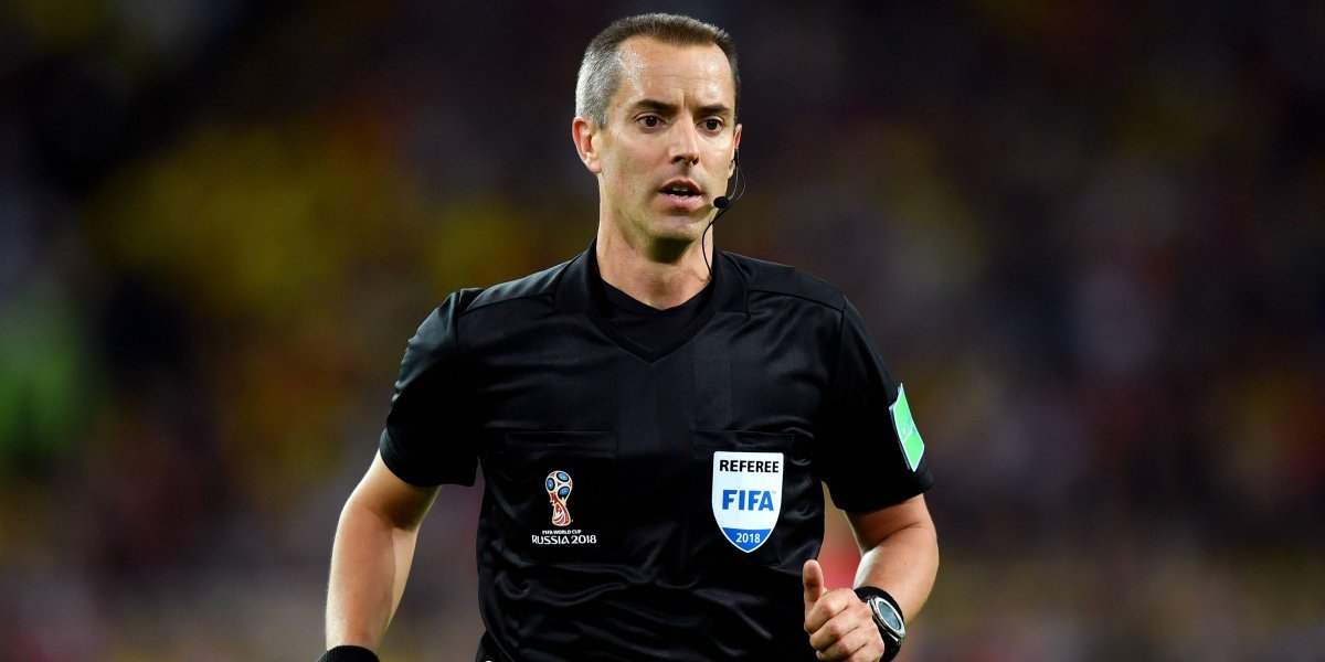 Los antecedentes de Mark Geiger, el arbitro que no es bienvenido en Colombia y Panamá