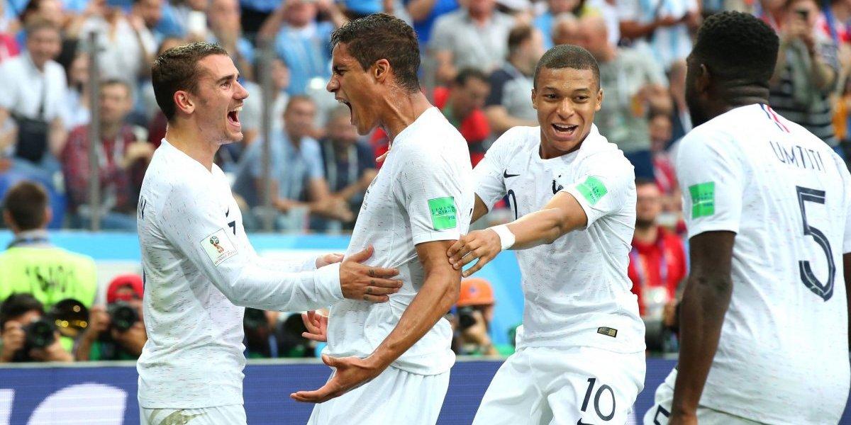Resultado de imagen para francia uruguay 2018