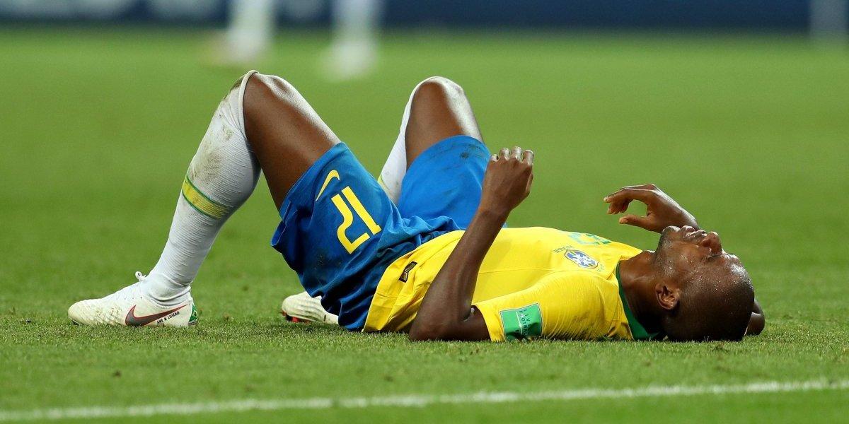 """Fernandinho repite los errores del 7-1 con Alemania y es """"crucificado"""" por los medios de Brasil"""