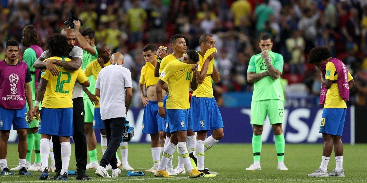 'La selección jugó con raza': Michel Temer, presidente de Brasil