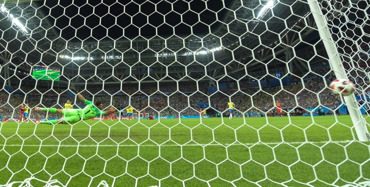 Segundo gol de Bélgica