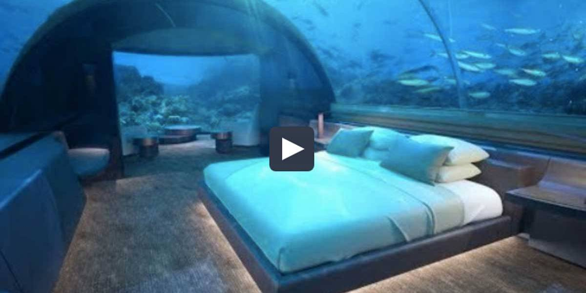 Primeiro hotel subaquático do mundo está quase pronto