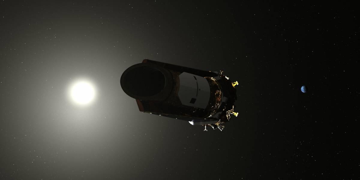 Observatorio espacial Kepler entra en modo hibernación debido a bajo combustible