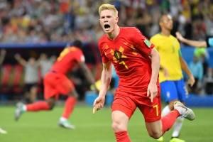 De Bruyne puso la sentencia para Bélgica