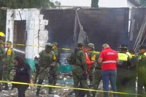 Explosión en Tultepec