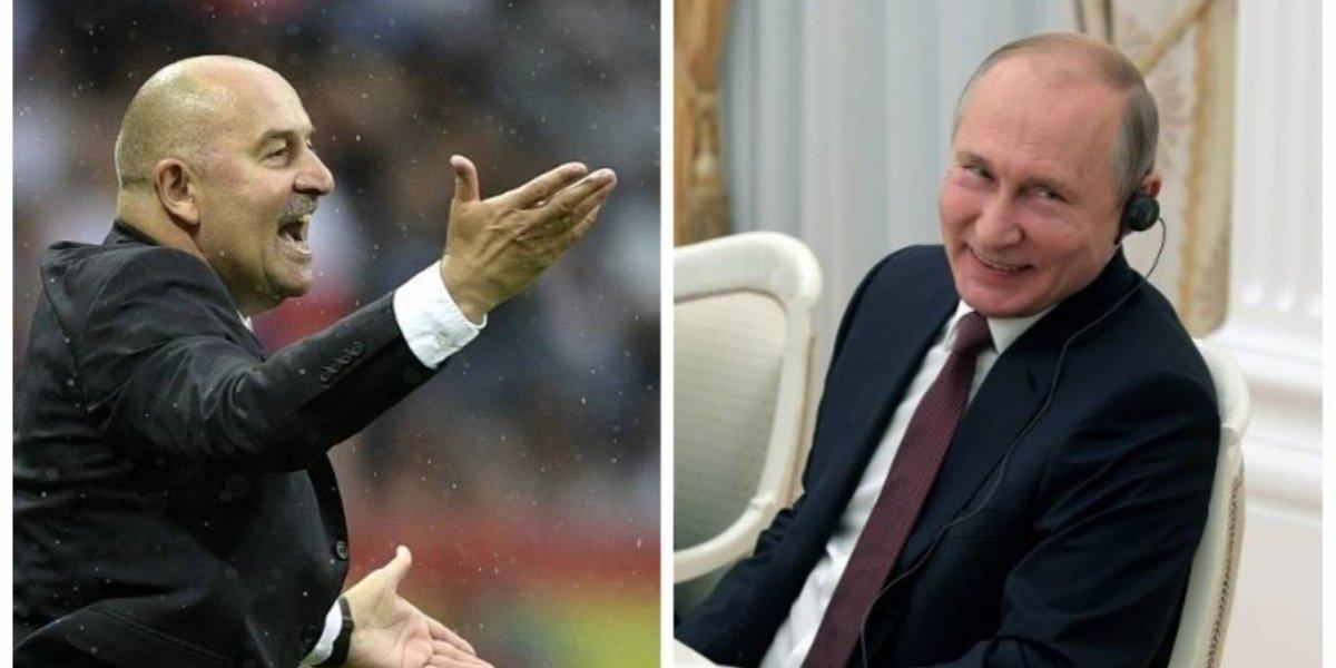 Seleccionador de Rusa confiesa que ha recibido llamadas de Vladimir Putin