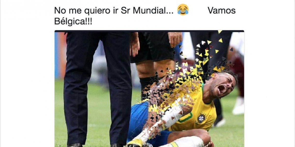 Con memes, usuarios se burlan cruelmente de la eliminación de Brasil ante Bélgica