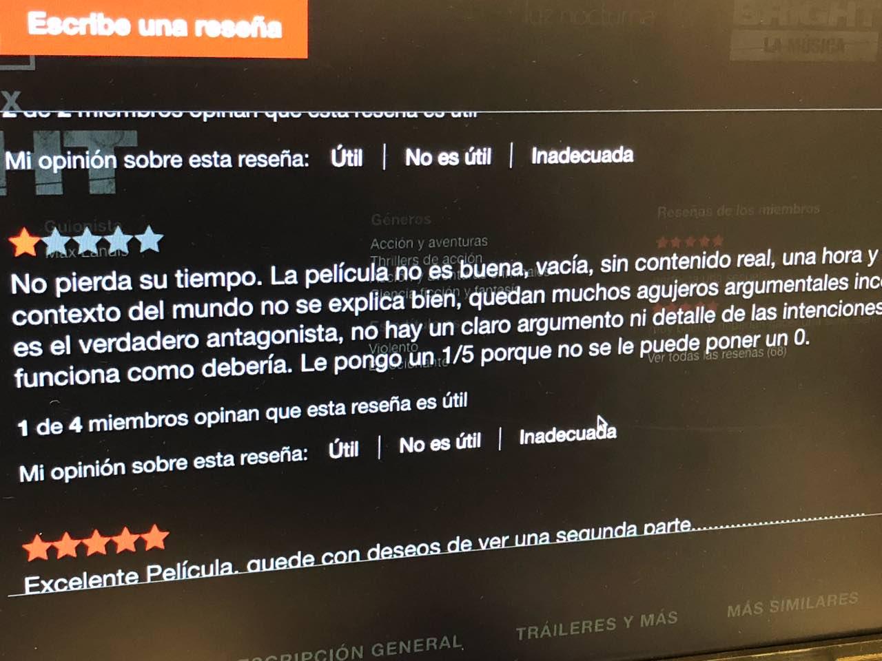 Netflix reseña