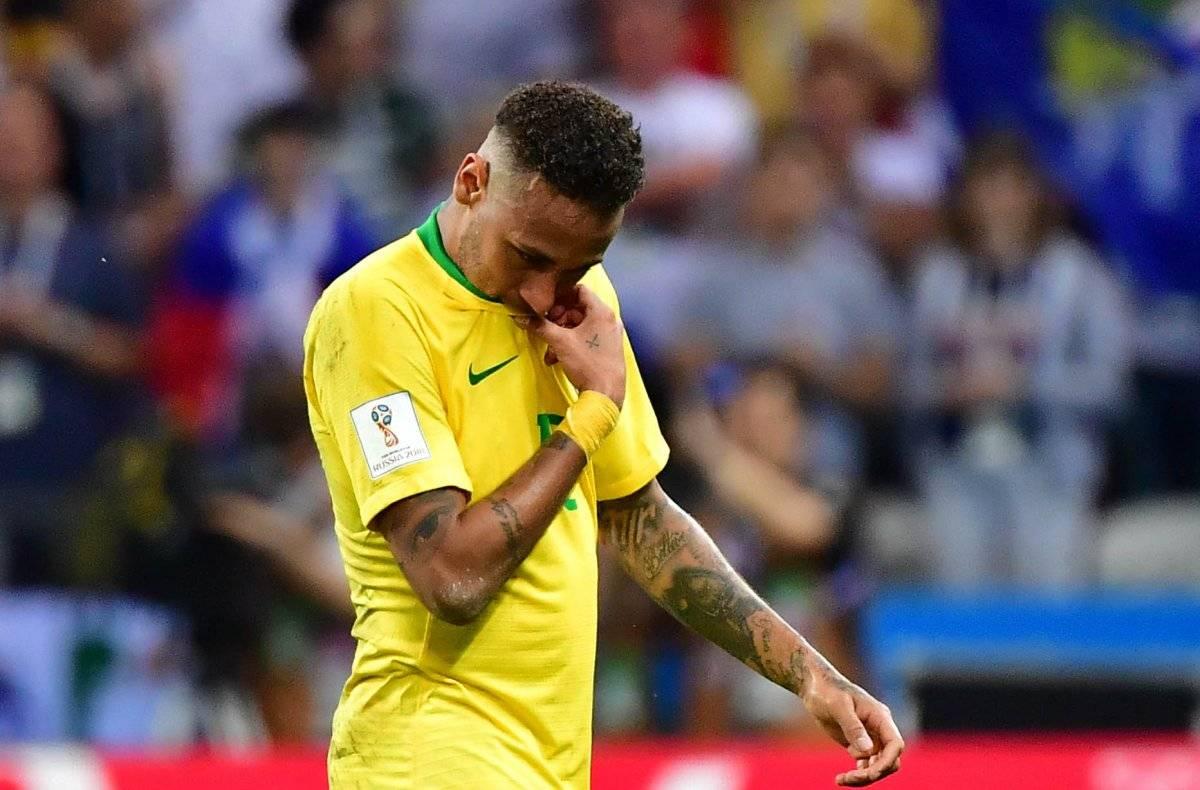 Neymar quedó bajo a su rendimiento habitual