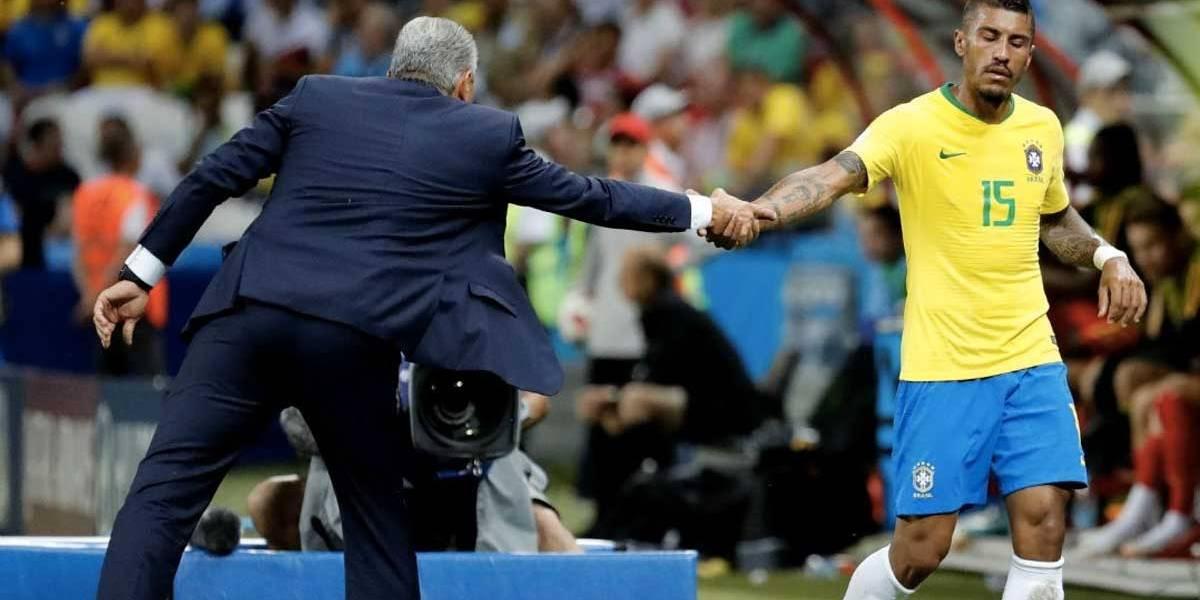 Copa do Mundo: nem sempre quem joga melhor vence, diz Paulinho após derrota