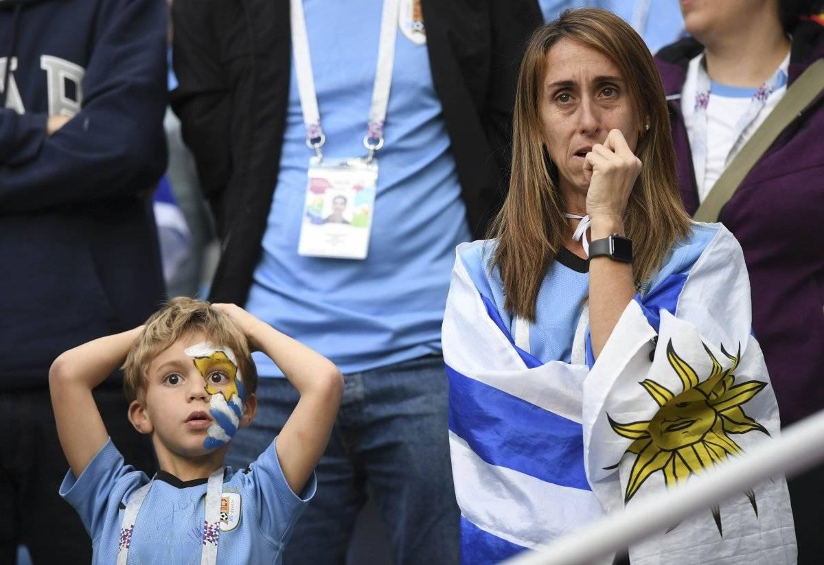 Pequeños y grandes sufrieron la eliminación de Uruguay