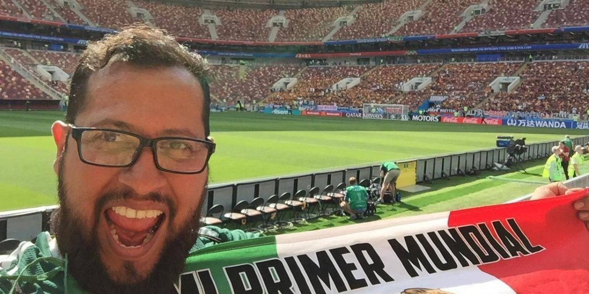 Edgar Bautista, mexicano que cumplió su sueño de ir a una Copa del Mundo
