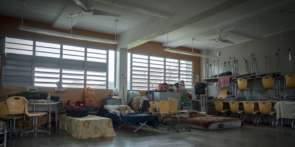 Lista de refugios de emergencia en Puerto Rico