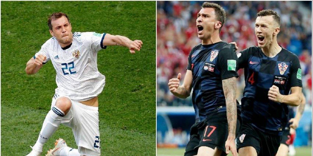 Rusia vs Croacia: los locales van por otro paso a su gran final