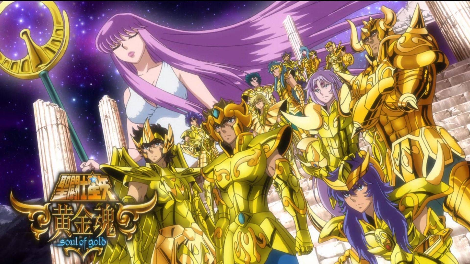 Caballeros del Zodiaco Alma de Oro