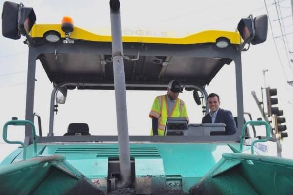 Gobernador Rosselló anuncia inicio de programa de mantenimiento y reestructuración de carreteras