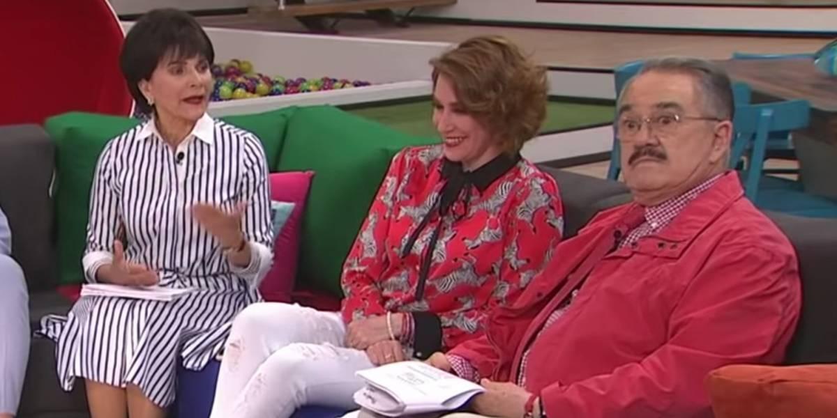 Pati Chapoy regaña e ignora a Pedro Sola en pleno programa