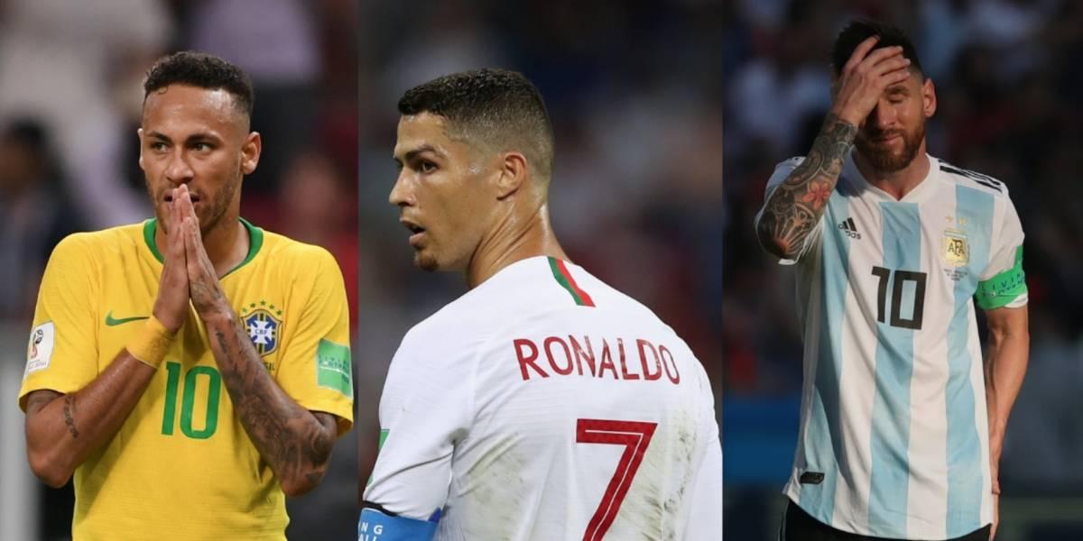 """Mundial de Rusia 2018 se queda sin sus """"estrellas"""""""