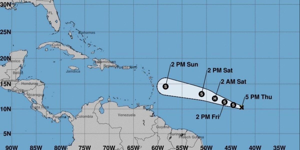 Beryl se convierte en huracán categoría 1