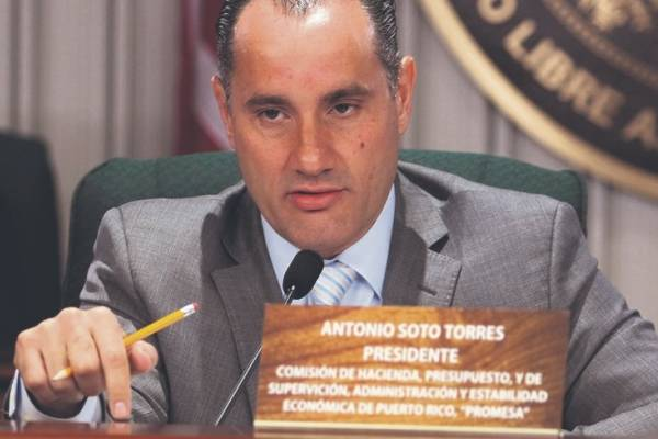"Representante Antonio ""Tony"" Soto"