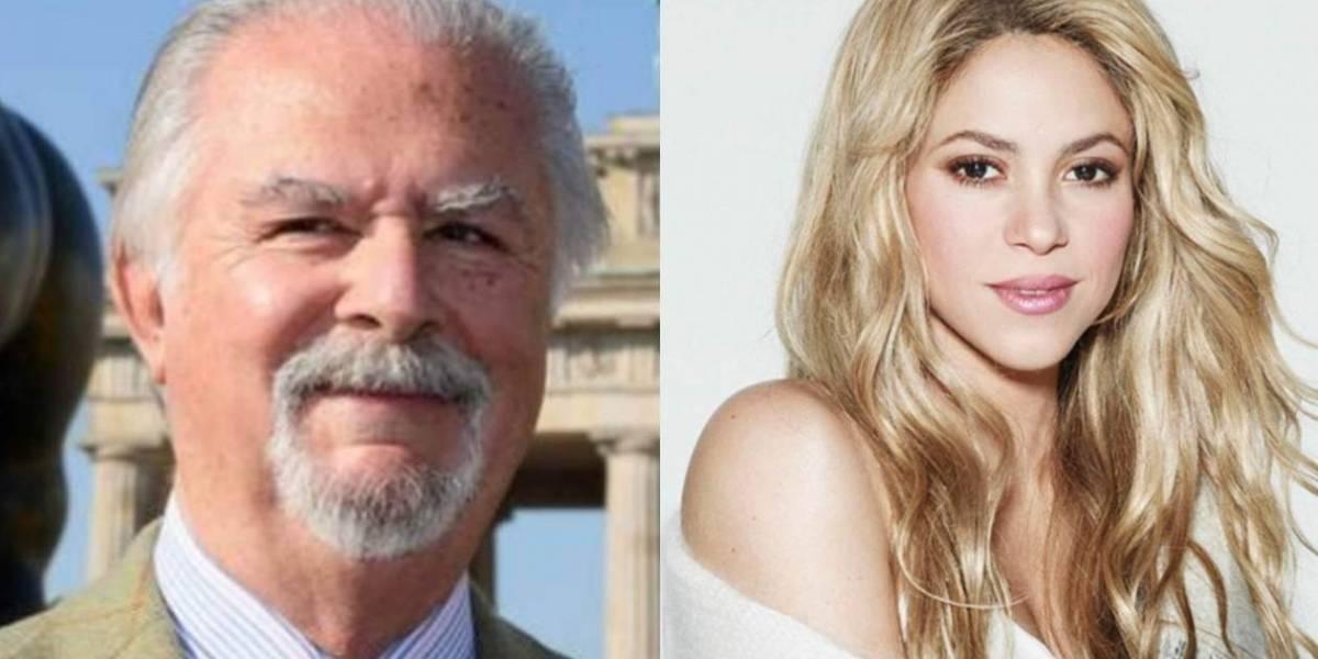 Shakira será inmortalizada en una escultura de Fernando Botero