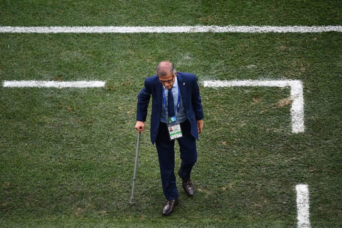 Tabárez podría haber dirigido su último Mundial