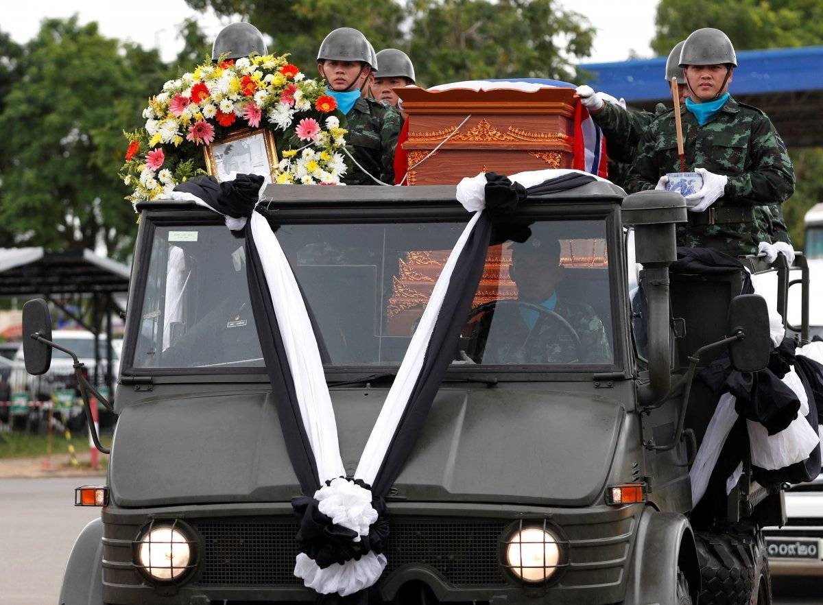 Murió buzo en rescate de niños en Tailandia EFE