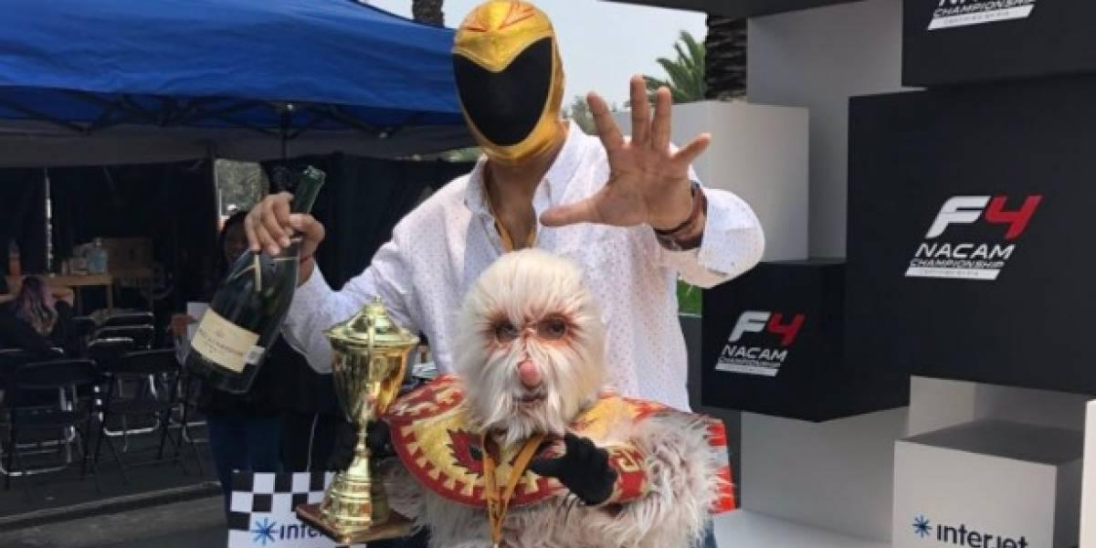 Empieza la gira del adiós del luchador mexicano Tinieblas