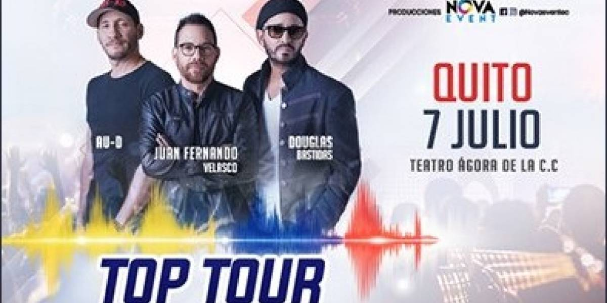 Top Tour 2018: Gana entradas al concierto participando con METRO