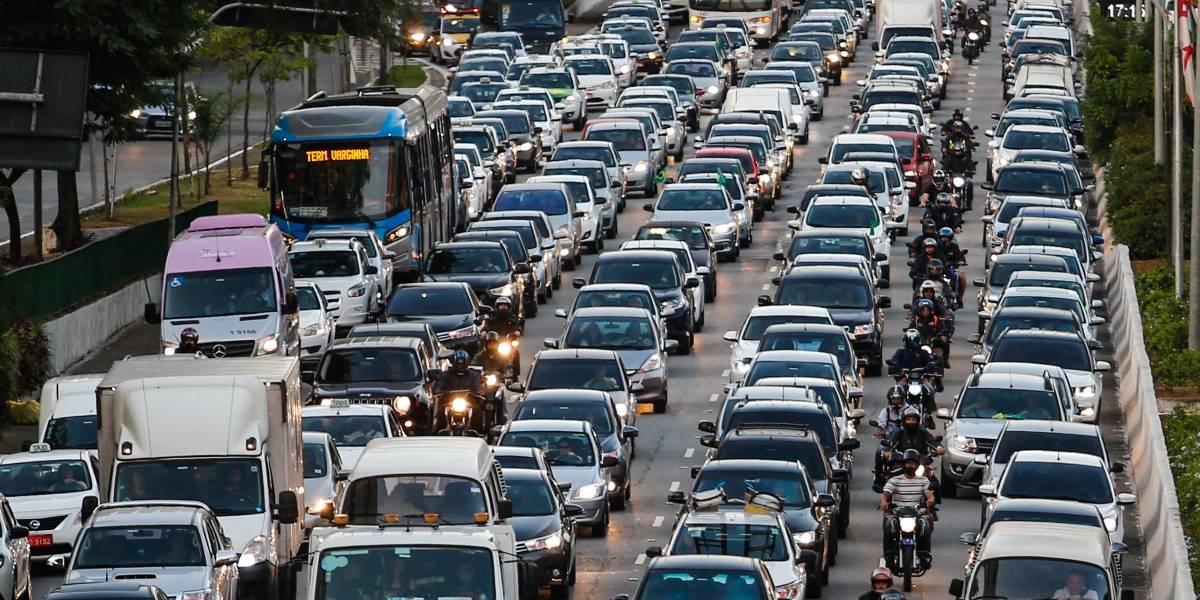 Brasil x Bélgica: São Paulo registra mais de 200 km de lentidão