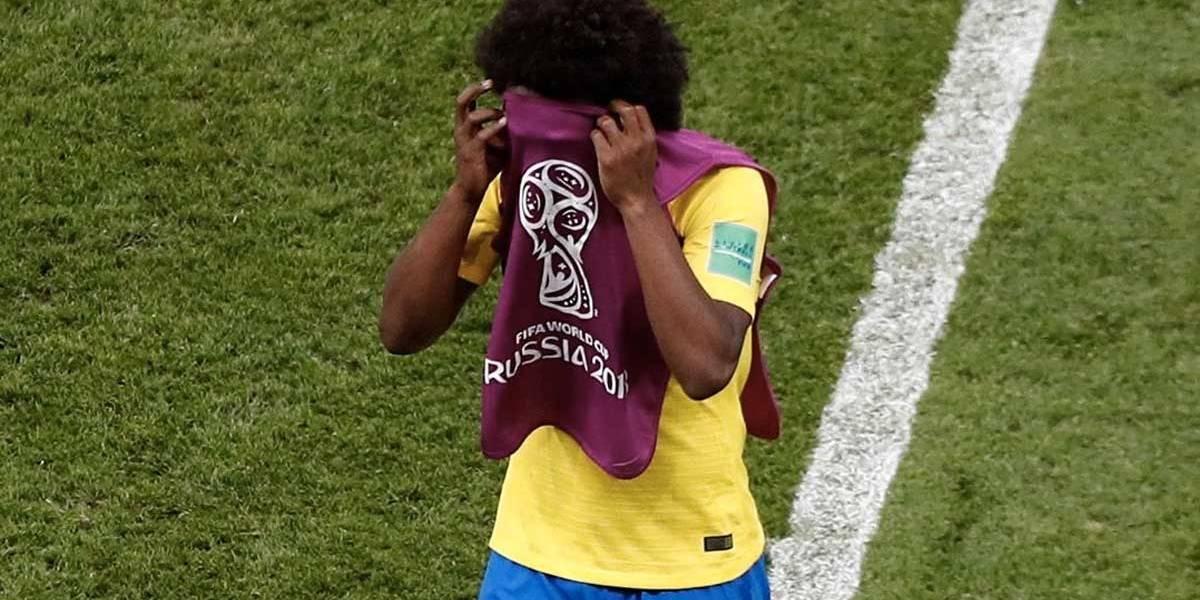 Copa do Mundo: Tá doendo muito, afirma Willian sobre eliminação