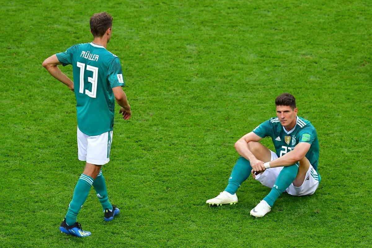 Alemania no paso de la fase de grupos