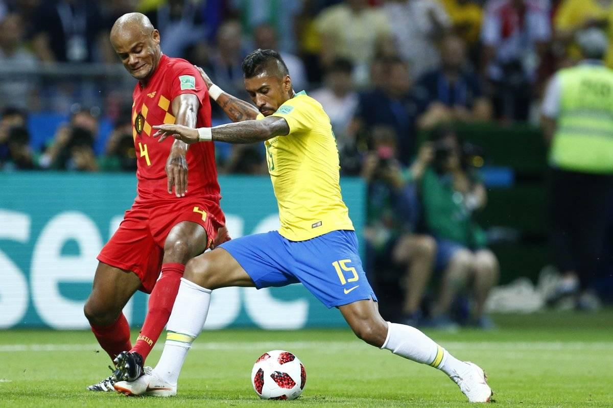 Paulinho tuvo un aceptable rendimiento en el Mundial