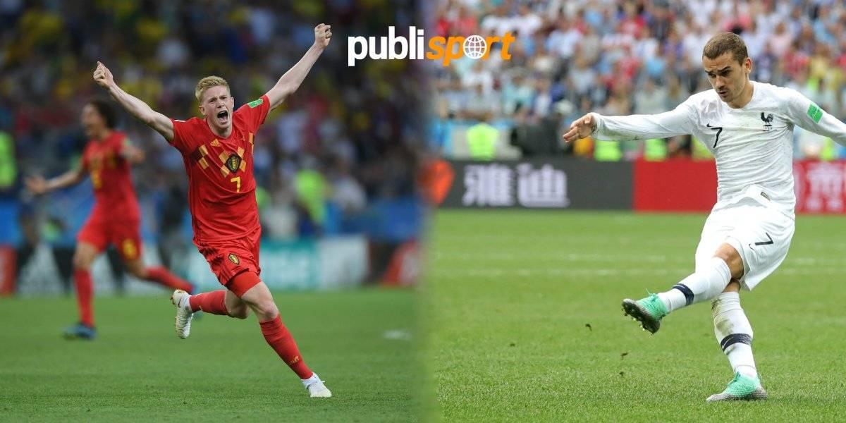 Francia vs Bélgica