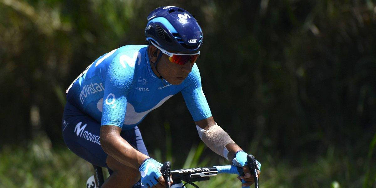 ¿Se desinfla la ilusión? Pinchazo de Nairo Quintana en la etapa inaugural