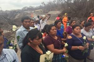 Bomberos desaparecidos volcán de Fuego