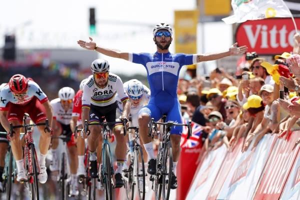 Video del Triunfo de Fernando Gaviria en la etapa 1 del Tour de Francia 2018