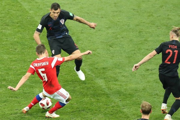 Video del gol de Denis Cheryshev con Rusia a Croacia