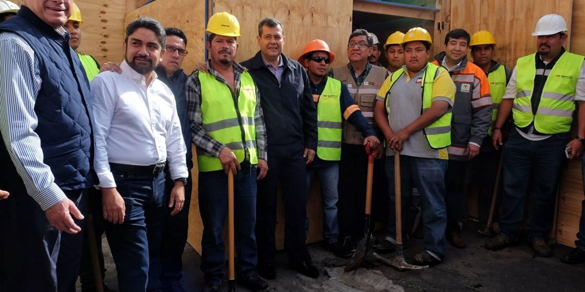 Inicia demolición de dos edificios afectados por el sismo en Coyoacán