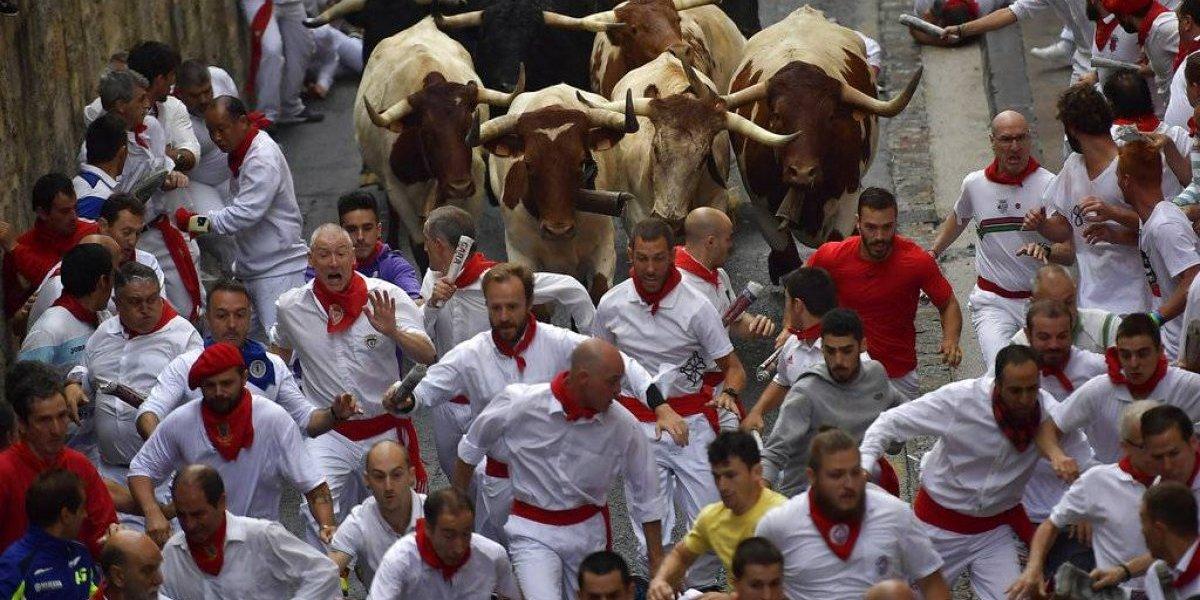 Corridas de San Fermín dejan cuatro heridos en su clausura