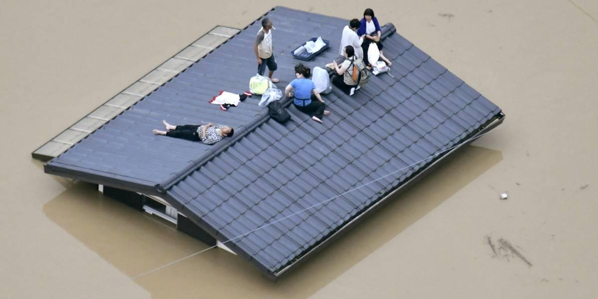 Intensas lluvias en Japón dejan al menos 38 muertos