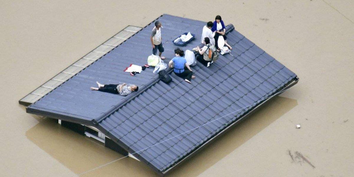 Mueren 38 personas en Japón por intensas lluvias